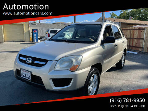 2009 Kia Sportage for sale at Automotion in Roseville CA