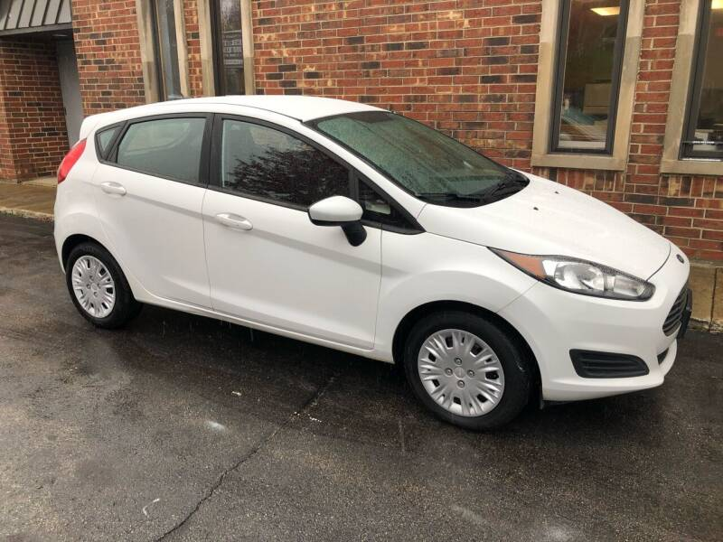 2016 Ford Fiesta for sale at Riverview Auto Brokers in Des Plaines IL