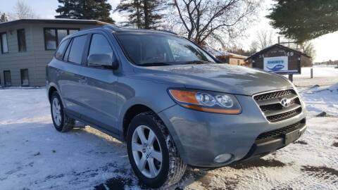 2008 Hyundai Santa Fe for sale at Shores Auto in Lakeland Shores MN