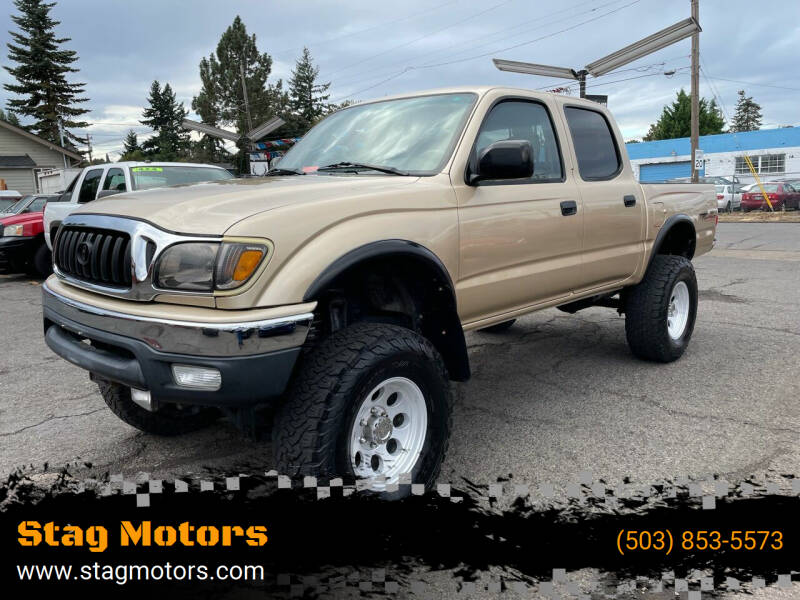 2003 Toyota Tacoma for sale at Stag Motors in Portland OR