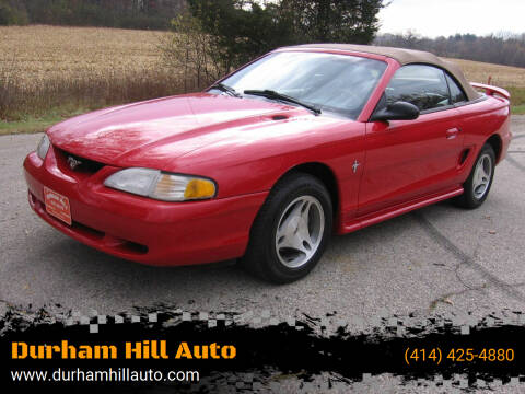 1998 Ford Mustang for sale at Durham Hill Auto in Muskego WI