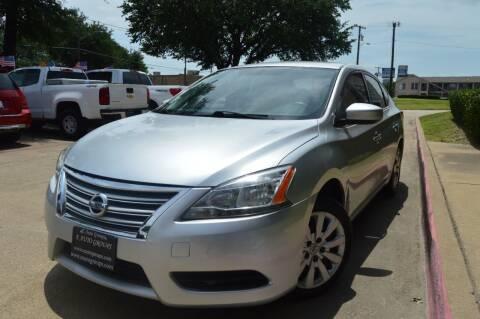 2015 Nissan Sentra for sale at E-Auto Groups in Dallas TX