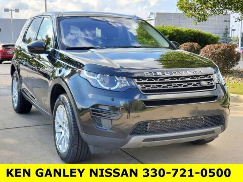 2017 Land Rover Discovery Sport for sale at Ken Ganley Nissan in Medina OH