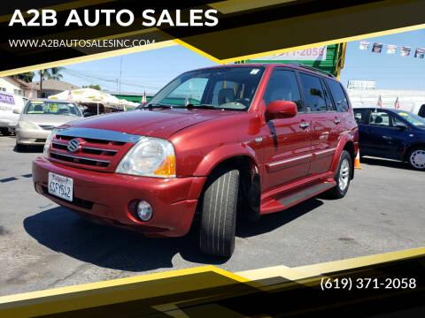2005 Suzuki XL7 for sale at A2B AUTO SALES in Chula Vista CA