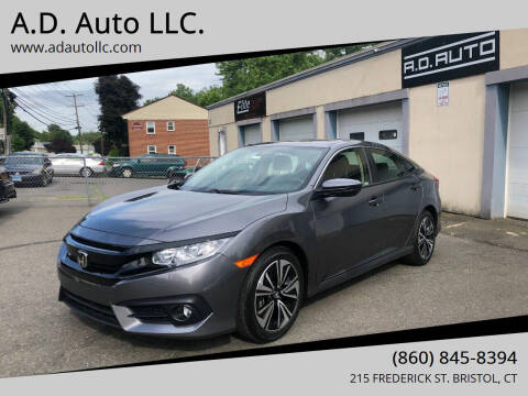 2018 Honda Civic for sale at ADAuto LLC in Bristol CT
