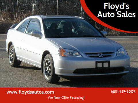2003 Honda Civic for sale at Floyd's Auto Sales in Stillwater MN
