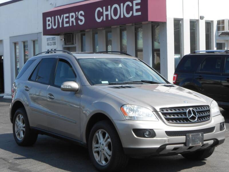 2006 Mercedes-Benz M-Class for sale at Buyers Choice Auto Sales in Bedford OH