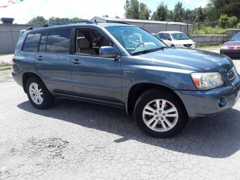 2006 Toyota Highlander Hybrid for sale at BBC Motors INC in Fenton MO