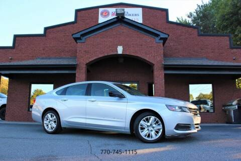 2018 Chevrolet Impala for sale at Atlanta Auto Brokers in Cartersville GA