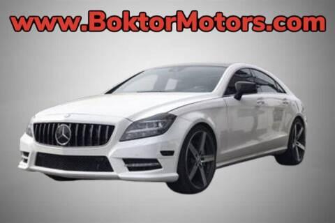 2014 Mercedes-Benz CLS for sale at Boktor Motors in North Hollywood CA