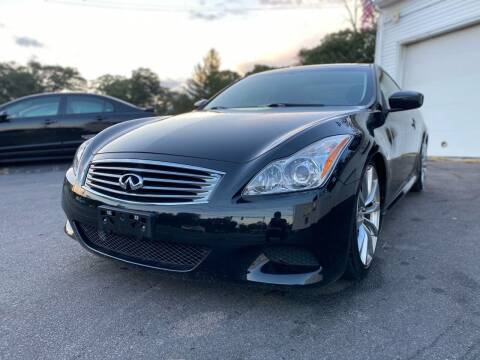 2009 Infiniti G37 Coupe for sale at SOUTH SHORE AUTO GALLERY, INC. in Abington MA