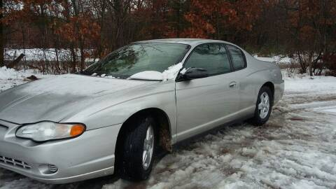 2005 Chevrolet Monte Carlo for sale at Expressway Auto Auction in Howard City MI