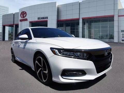 2020 Honda Accord for sale at BEAMAN TOYOTA in Nashville TN