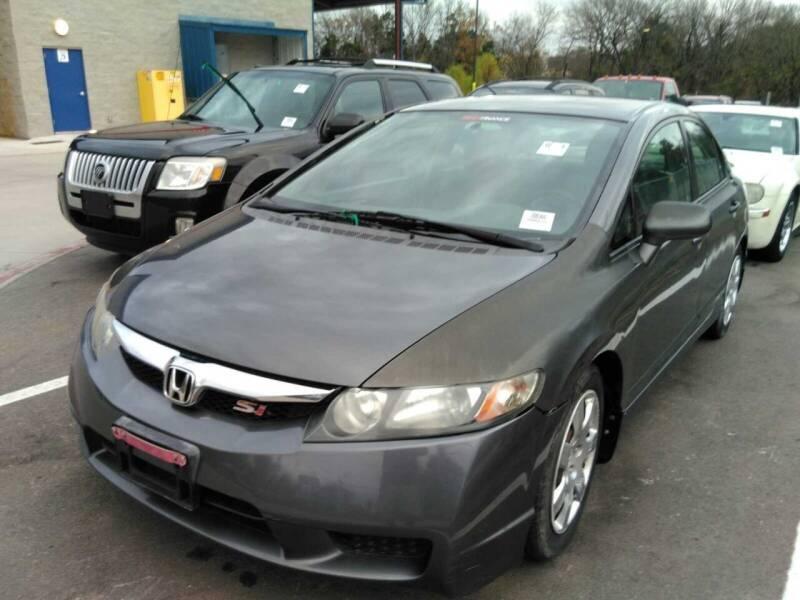 2009 Honda Civic for sale at N & A Metro Motors in Dallas TX