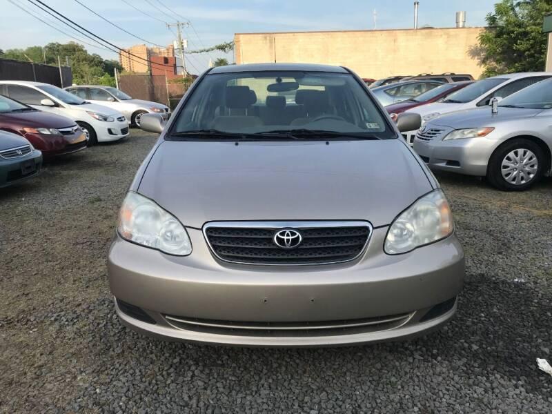 2006 Toyota Corolla for sale at A & B Auto Finance Company in Alexandria VA