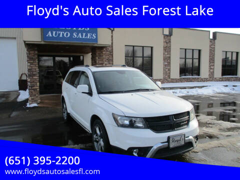 2017 Dodge Journey for sale at Floyd's Auto Sales Forest Lake in Forest Lake MN