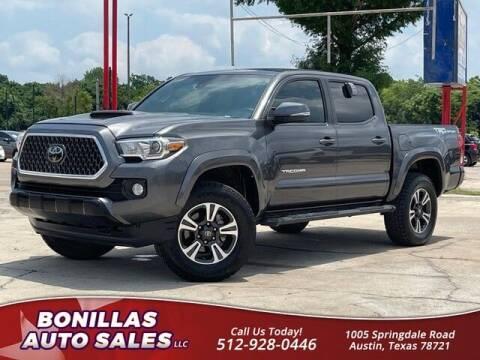 2018 Toyota Tacoma for sale at Bonillas Auto Sales in Austin TX