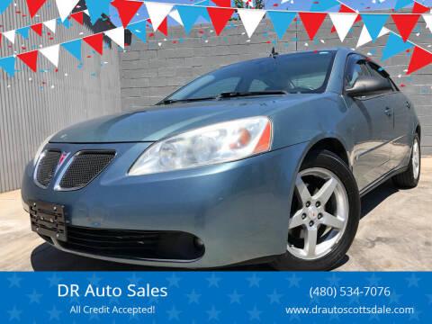 2009 Pontiac G6 for sale at DR Auto Sales in Scottsdale AZ