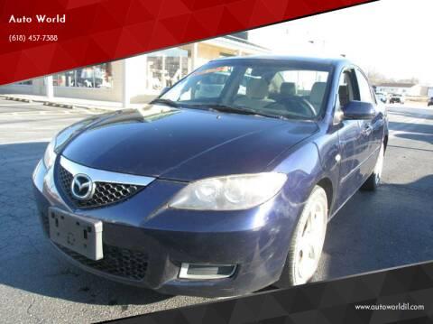 2009 Mazda MAZDA3 for sale at Auto World in Carbondale IL