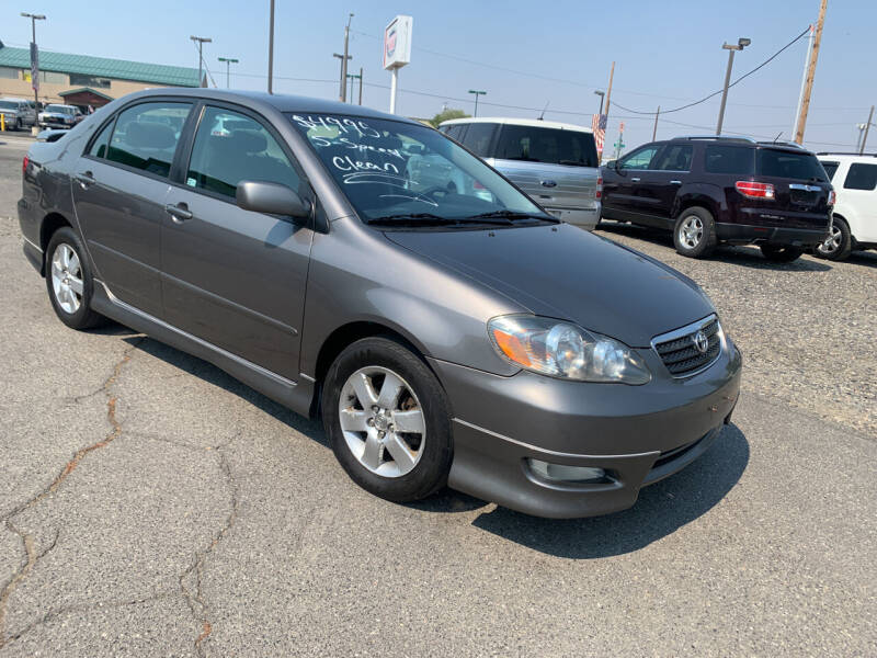 2007 Toyota Corolla for sale at Independent Auto Sales #2 in Spokane WA