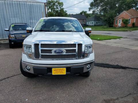 2011 Ford F-150 for sale at Brothers Used Cars Inc in Sioux City IA