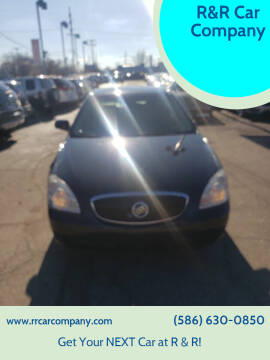 2007 Buick Lucerne for sale at R&R Car Company in Mount Clemens MI