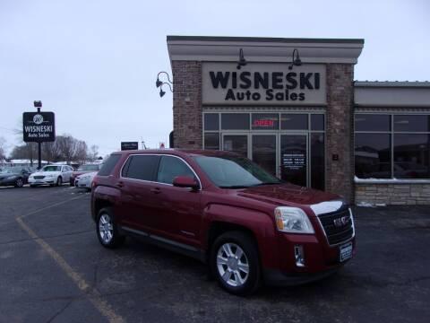 2011 GMC Terrain for sale at Wisneski Auto Sales, Inc. in Green Bay WI