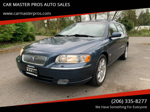 2005 Volvo V70 for sale at CAR MASTER PROS AUTO SALES in Lynnwood WA