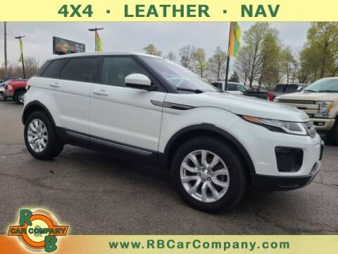 2019 Land Rover Range Rover Evoque for sale at R & B CAR CO - R&B CAR COMPANY in Columbia City IN