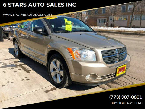 2010 Dodge Caliber for sale at 6 STARS AUTO SALES INC in Chicago IL