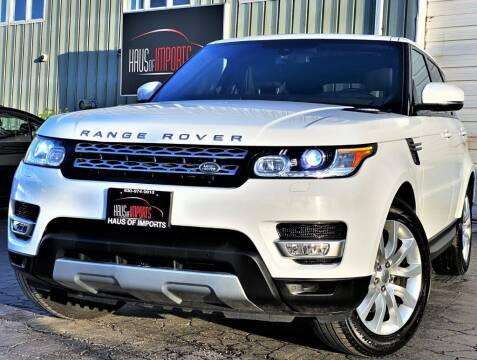 2015 Land Rover Range Rover Sport for sale at Haus of Imports in Lemont IL