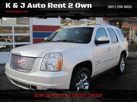 2013 GMC Yukon for sale at K & J Auto Rent 2 Own in Bountiful UT