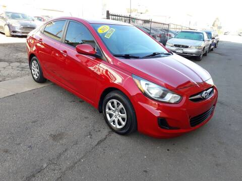 2013 Hyundai Accent for sale at Sanaa Auto Sales LLC in Denver CO