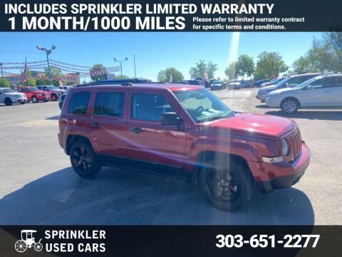 2015 Jeep Patriot for sale at Sprinkler Used Cars in Longmont CO