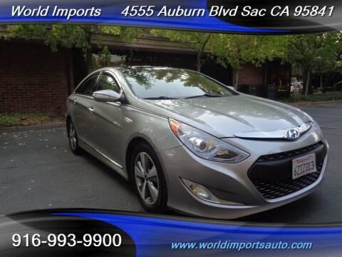 2012 Hyundai Sonata Hybrid for sale at World Imports in Sacramento CA