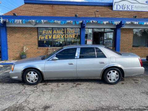 2005 Cadillac DeVille for sale at Duke Automotive Group in Cincinnati OH