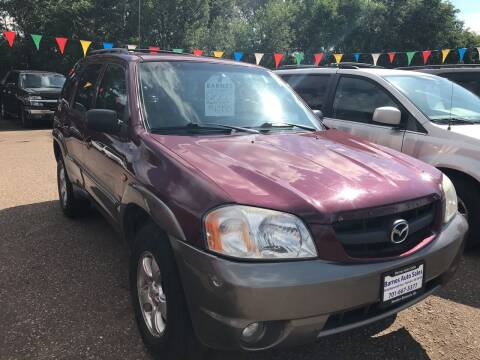 2004 Mazda Tribute for sale at BARNES AUTO SALES in Mandan ND