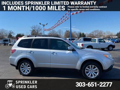 2011 Subaru Forester for sale at Sprinkler Used Cars in Longmont CO