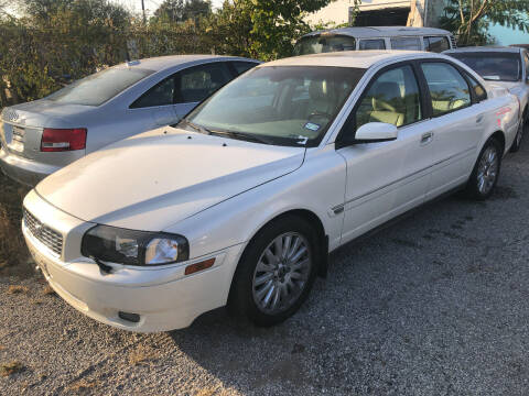 2005 Volvo S80 for sale at Finish Line Motors in Tulsa OK