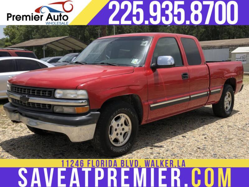 2001 Chevrolet Silverado 1500 for sale at Premier Auto Wholesale in Baton Rouge LA