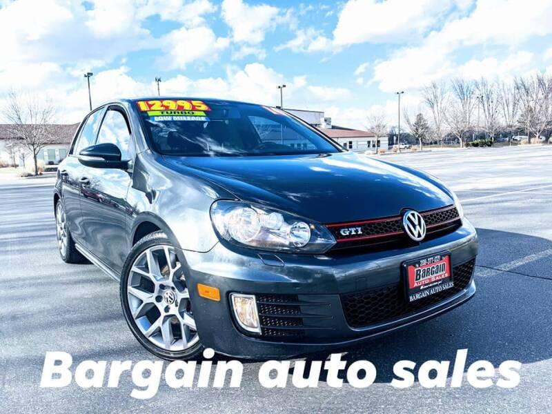 2014 Volkswagen GTI for sale at Bargain Auto Sales LLC in Garden City ID
