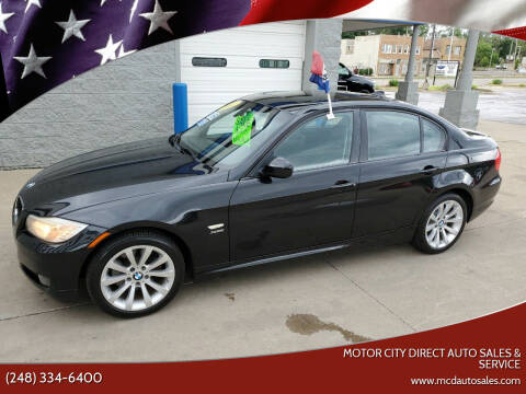2011 BMW 3 Series for sale at Motor City Direct Auto Sales & Service in Pontiac MI