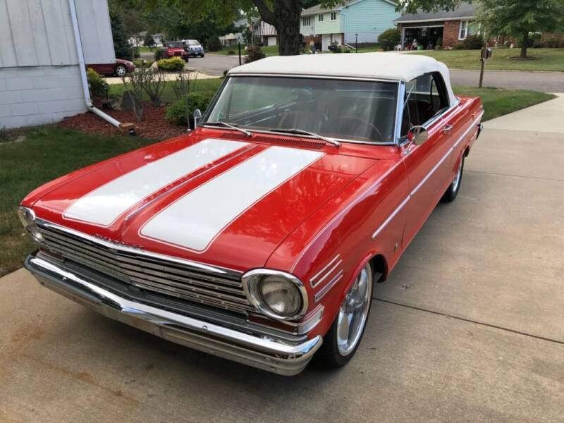 1963 Chevrolet Nova for sale at Gary Miller's Classic Auto in El Paso IL