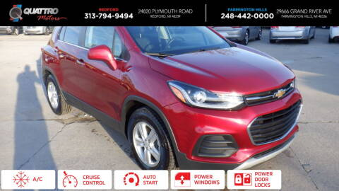 2019 Chevrolet Trax for sale at Quattro Motors 2 - 1 in Redford MI