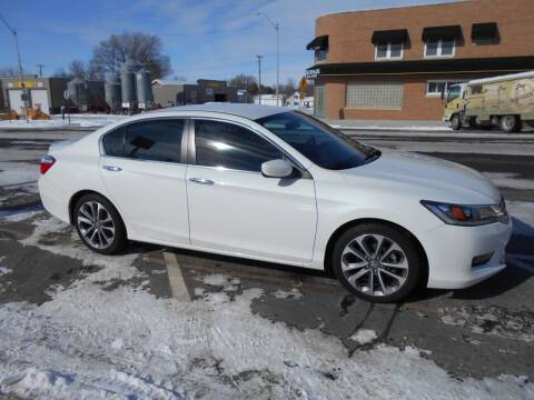 2014 Honda Accord for sale at Creighton Auto & Body Shop in Creighton NE