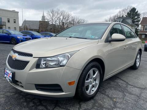 2011 Chevrolet Cruze for sale at 1NCE DRIVEN in Easton PA
