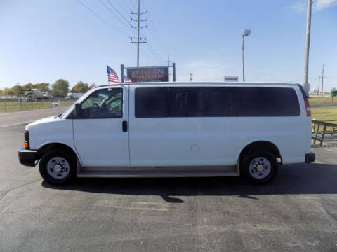2012 Chevrolet Express Passenger for sale at MYLENBUSCH AUTO SOURCE in O` Fallon MO