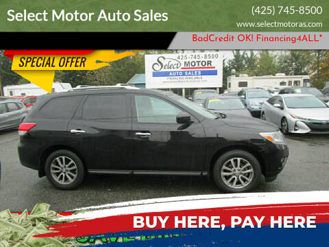 2014 Nissan Pathfinder for sale at Select Motor Auto Sales in Lynnwood WA