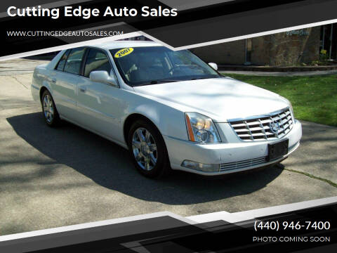 2007 Cadillac DTS for sale at Cutting Edge Auto Sales in Willoughby OH