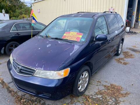 2004 Honda Odyssey for sale at Boris Auto Sales & Repairs in Harrisonburg VA